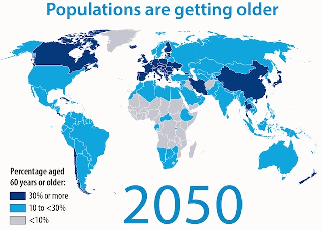 WHO on Aging Populations: Think Investment, Not Cost