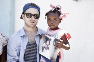 Photographer Jay Perry and Kettenie-Love_Haiti