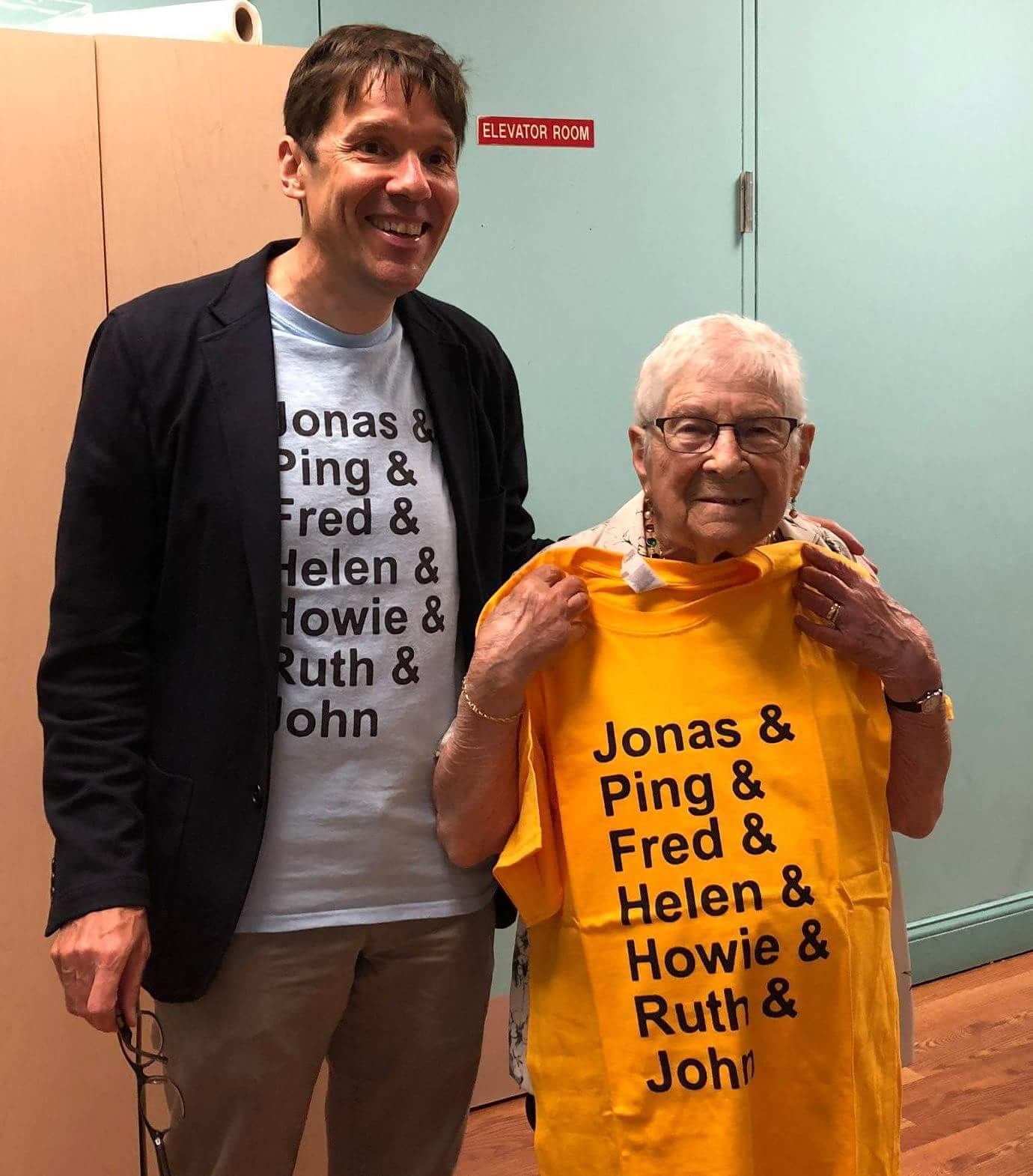 John Leland and Ruth Willig