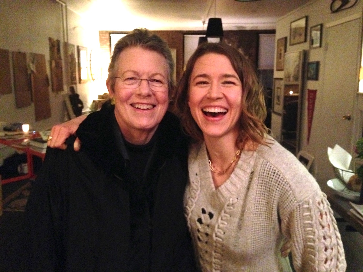 Kate Schutt and her mom about 3 years into her illness.