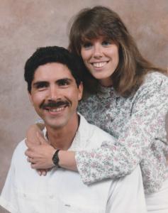 Jill Armijo and husband Joe - San Diego newlyweds