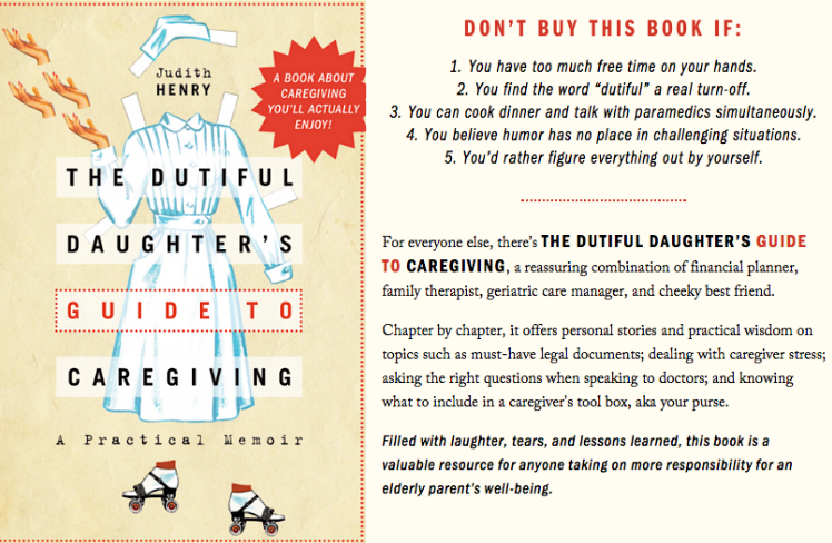 Dutiful Daughter's Guide to Caregiving