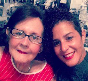 Adrienne Glusman, millennial caregiver
